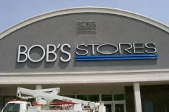 Channel Letters for Bob's Stores in NJ