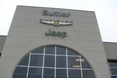 Channel Letters for Butler Chrysler in NJ