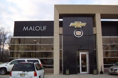 Channel Letters for Malouf in NJ