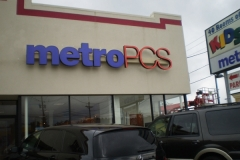 Channel Letters for Metro Pcs in NJ