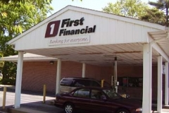 Dimensional Letters for First Financial in NJ