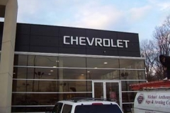 Dimensional Letters for Chevrolet in NJ