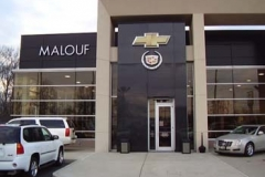 Dimensional Letters for Malouf in NJ
