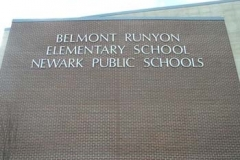 Dimensional Letters for Belmont Runyon in NJ