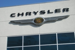 Dimensional Letters for Chrysler in NJ