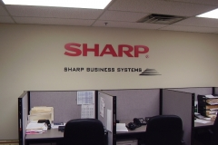 Custom Sign for Sharp in NJ