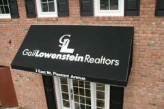 Fabric Awnings for Gail Lowenstein Realtors in NJ