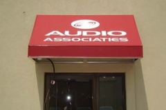 Fabric Awnings for Audio Associates in NJ