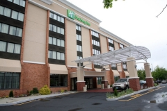 Glass Awning for Holiday Inn in NJ