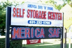 LED Signs for Self Storage Center in NJ