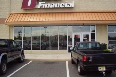 Metal Awnings for First Financial in NJ