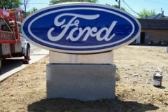 Monument Sign for Ford in NJ