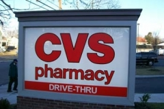 Monument Sign for CVS in NJ