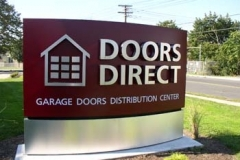 Monument Sign for Doors Direct in NJ