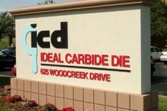 Monument Sign for ICD in NJ