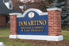 Monument Sign for DeMartino in NJ
