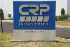 Monument Sign for CRP in NJ