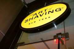 Sign Cabinets for Art of Shaving in NJ