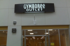 Sign Cabinets for Gymboree in NJ