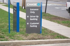 Way Finding Signs for Chase 1 in NJ