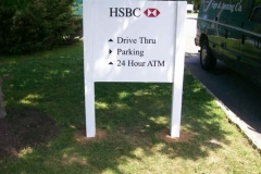 Way Finding Signs for HSBC in NJ