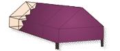 Gable Marque Canopy
